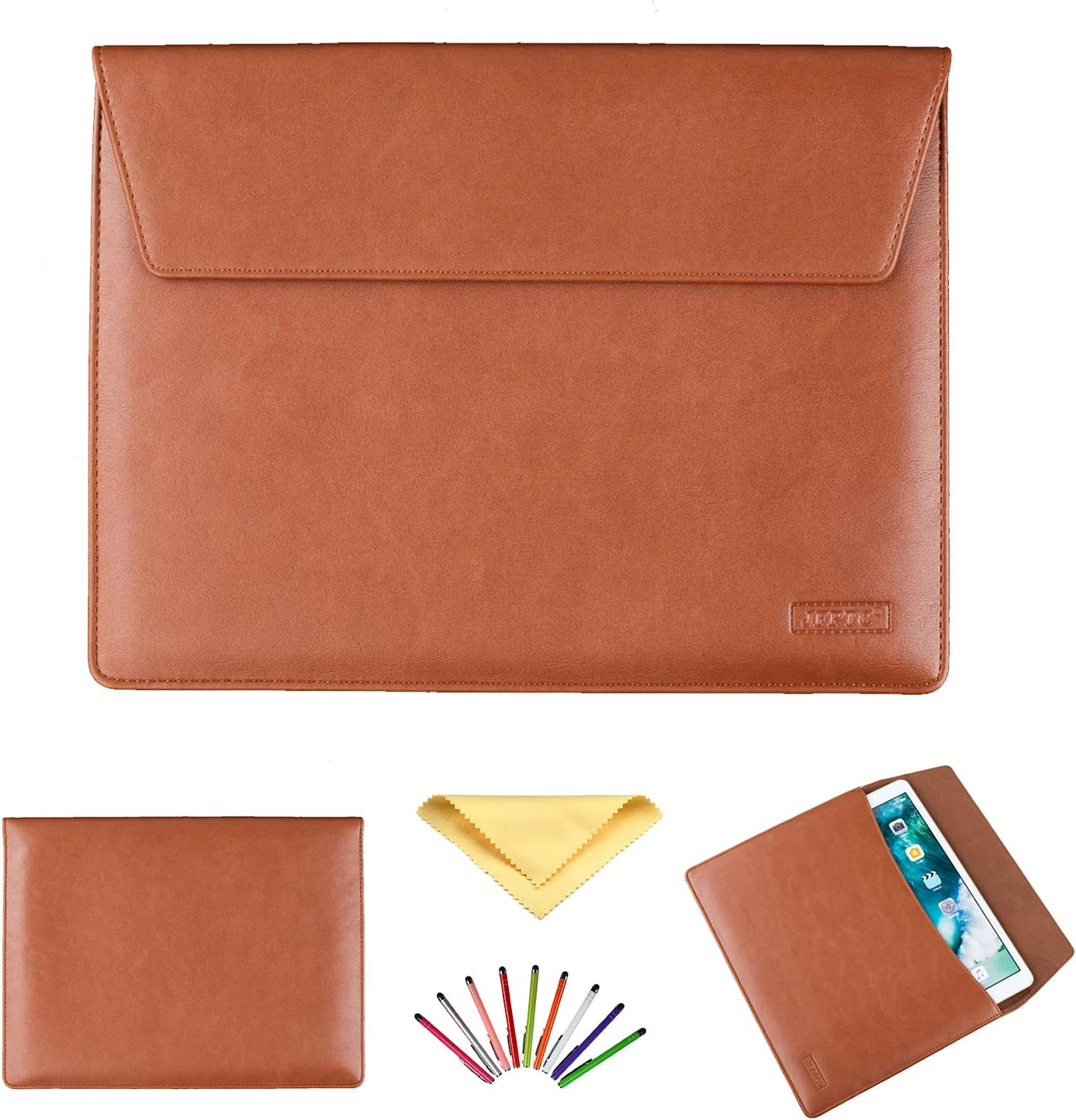JIANGNIUS Tablet Case Universal Lichi Texture Leather Case with Holder for 8.0 inch Tablet PC S-WMC-1731S, S-WMC-1724S, S-WMC-1723B,S-WMC-1723W, S-WMC-1677B, S-WMC-1674W, S-WMC-1668, S-WMC-1638S,S-WM