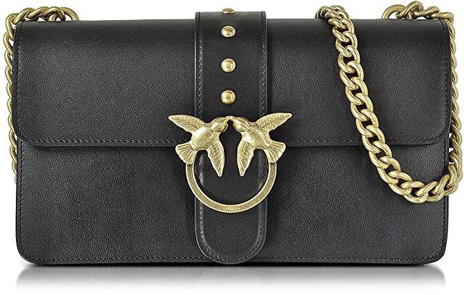 88440906ac645 PINKO. BAG Love Simply 2 Black New Collection Spring Summer 2018  1P212TY4HJZ99  Amazon.co.uk  Clothing