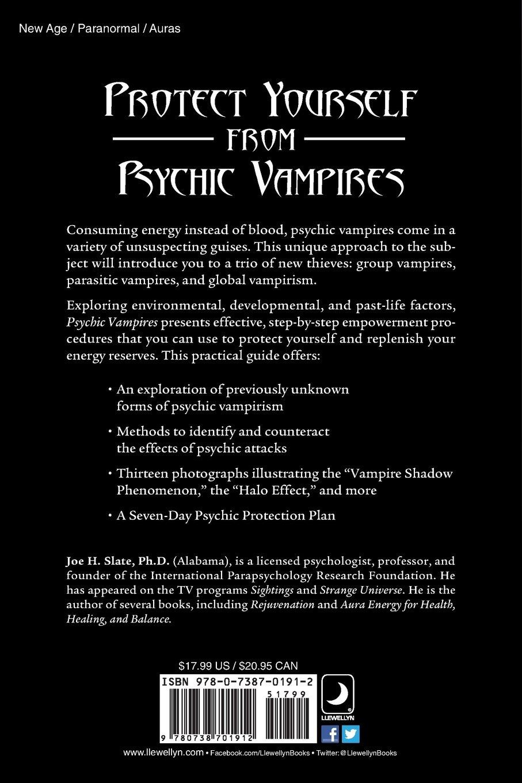 Amazon com: Psychic Vampires: Protection from Energy