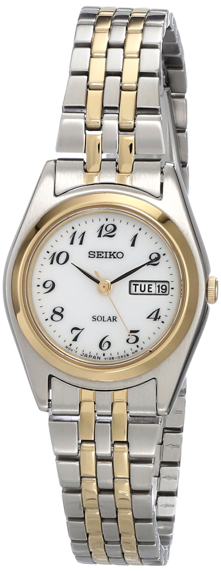 Seiko Women's SUT116 Stainless Steel Two-Tone Watch by SEIKO