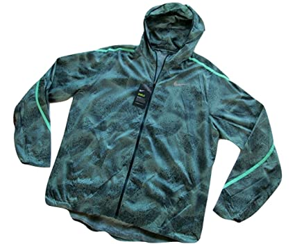 32b5ba4b63f9 Image Unavailable. Image not available for. Color  Nike Shield Impossibly  Light Men s Running Jacket ...