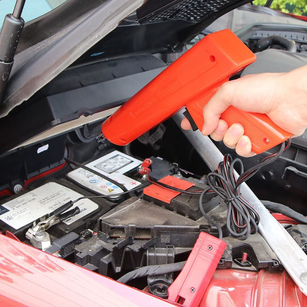 pistola di cronometraggio luce di temporizzazione induttiva strumento di riparazione per moto e veicoli strumento manuale MOSINITTY per prova di accensione del motore portatile