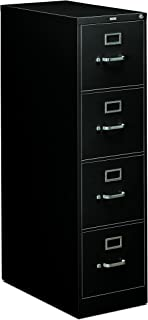 HON 4-Drawer Office Filing Cabinet - 310 Series Full-Suspension Letter File Cabinet  sc 1 st  Amazon.com & Amazon.com: HON Two-Drawer Filing Cabinet- 510 Series Full ...