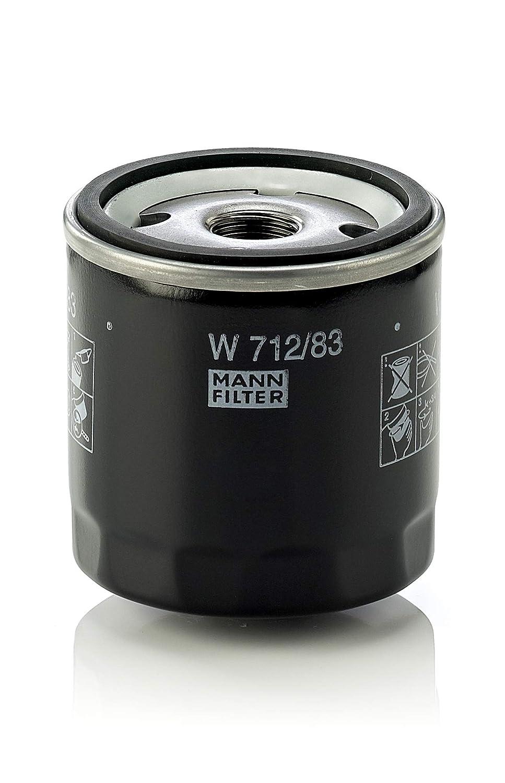 Original MANN-FILTER Ölfilter W 712/83 – Für PKW und Nutzfahrzeuge MANN & HUMMEL GMBH W712/83
