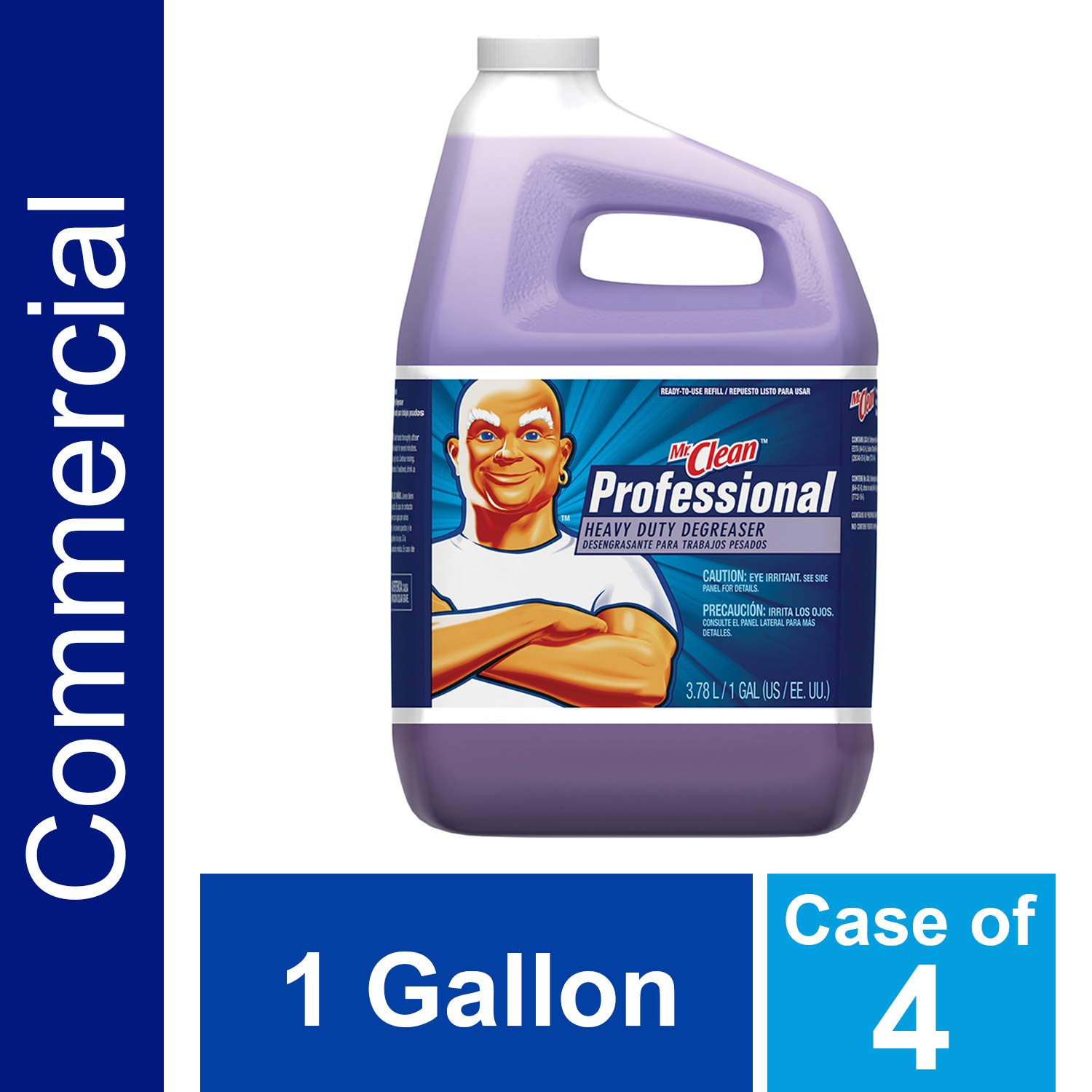 Heavy Duty Degreaser from Mr. Clean for Commercial Kitchen, Machine and  Auto Shop Uses, 1 Gal. (Case of 4)