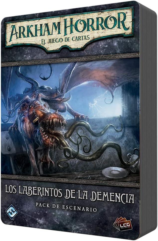 Fantasy Flight Games- Arkham Horror: los laberintos de la Demencia -español, Color (FFAHC18): Amazon.es: Juguetes y juegos