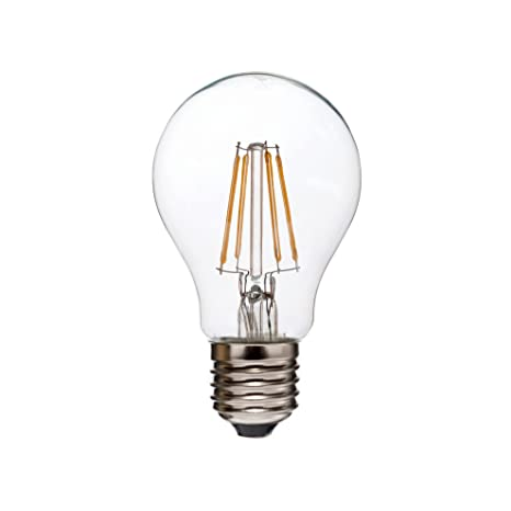 Decoración Vintage Bombilla LED E27, 3.5 W, Blanco Cálido. Temperatura de color: