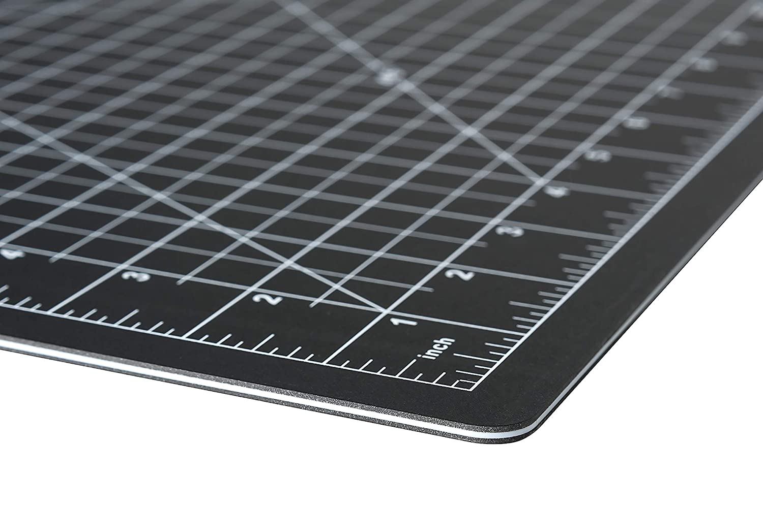 Sewing Black 24 x 36 1//2 Grid Lines and Crafts Dahle 10673 Vantage Self-Healing Cutting Mat Cutting 5 layer PVC Construction Perfect for Cropping Photos Self Healing for Maximum Durability