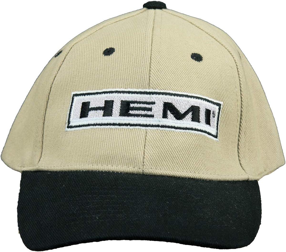 Dodge Hemi Hat Two Tone Embroidered Cap