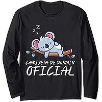 Camiseta de dormir oficial I Lindo koala dormido Manga Larga