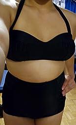 Amazon.com: Marina West Mold Bra High Waisted Bikini
