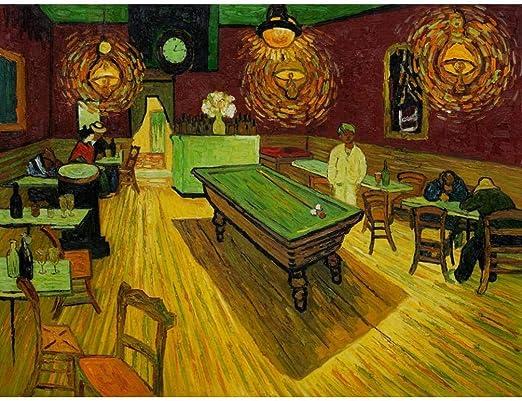 YDPTYANG Niños Puzzle 500 Piezas Pintura de Sala de Billar Adultos ...
