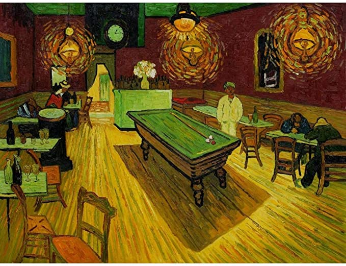 YDPTYANG Niños Puzzle 500 Piezas Pintura de Sala de Billar Adultos De Madera Jigsaw Puzzles Juego Clásico Puzzle Toys Puzzles: Amazon.es: Hogar