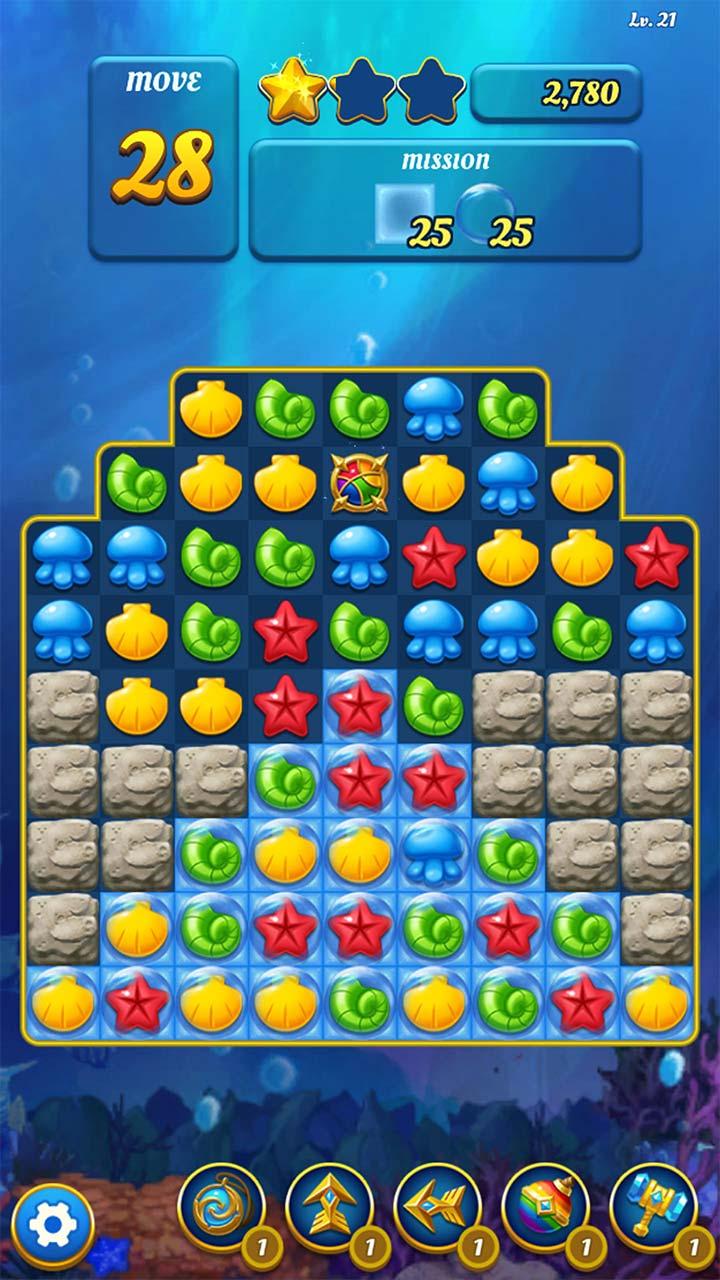 Ocean Splash Match-3: juegos de puzzle gratis: Amazon.es