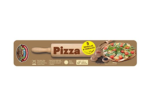 Casa Tarradellas Masa Para Pizza 5 Cereales 260 g: Amazon.es ...