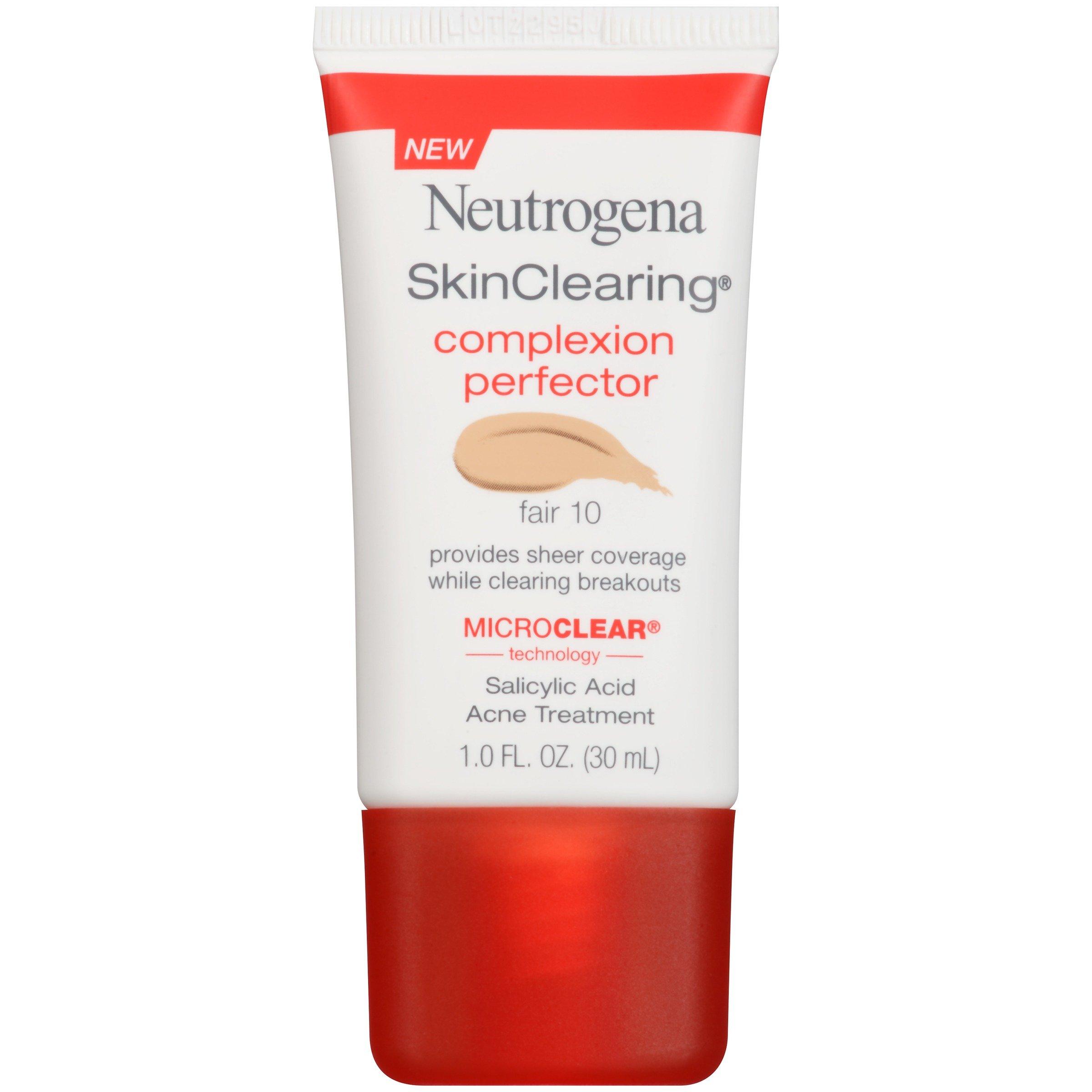 Neutrogena Skinclearing Complexion Perfector With Salicylic Acid, Fair, 1 Fl. Oz.