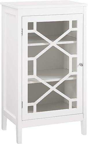 Fetti Small Cabinet in White Finish