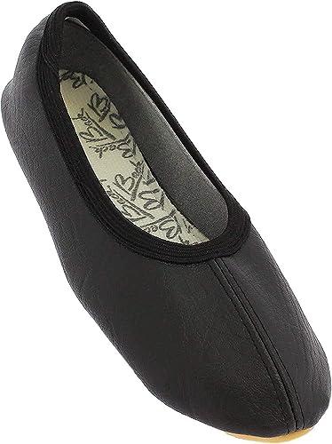 Schwarz Zapatillas de Gimnasia Unisex Beck Basic Weiss