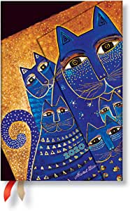 Paperblanks 12 Month Diaries 2020 Mediterranean Cats | Horizontal | Mini (100 × 140 mm)