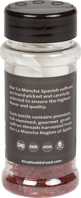 Kiva Gourmet Spanish Saffron - Premium Grade (1 gram)