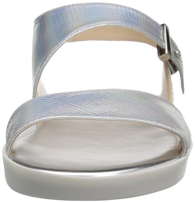 Amazon.com   Nine West Womens Izara Synthetic Dress Sandal   Heeled Sandals