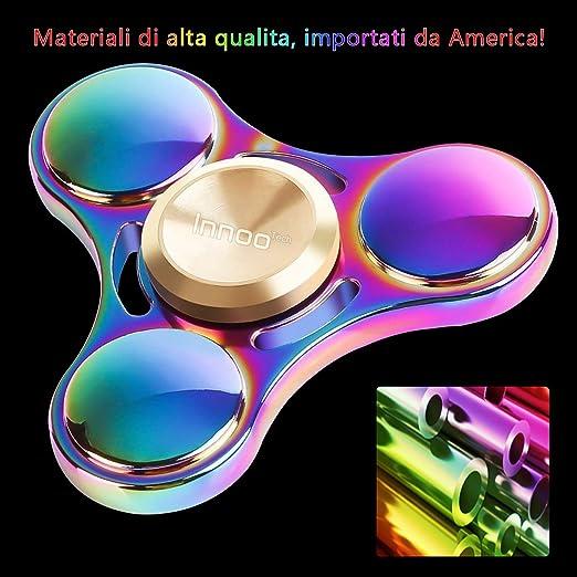 24 opinioni per Fidget Spinner Hand Spinner InnooTech Tri Fidget Mano Spinner Colorato 3-6