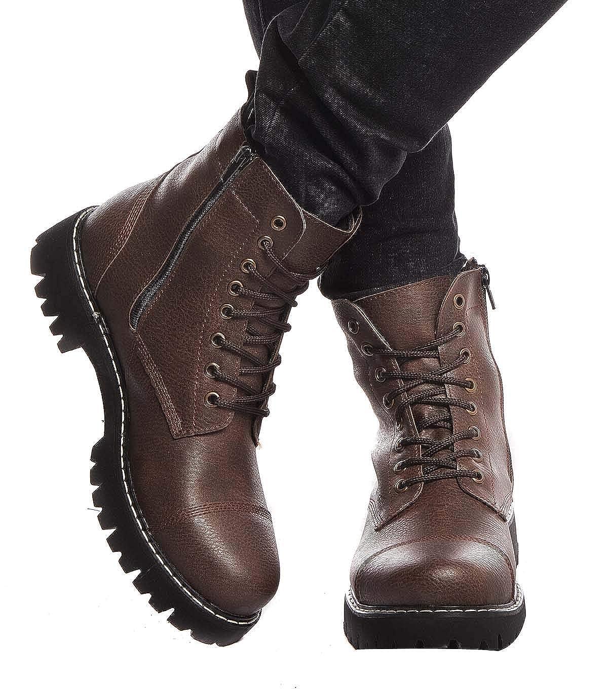 LEIF NELSON Herren Schuhe Klassische Stiefel Freizeitschuhe Stiefel Elegante Winterschuhe Männer Turnschuhe LN156