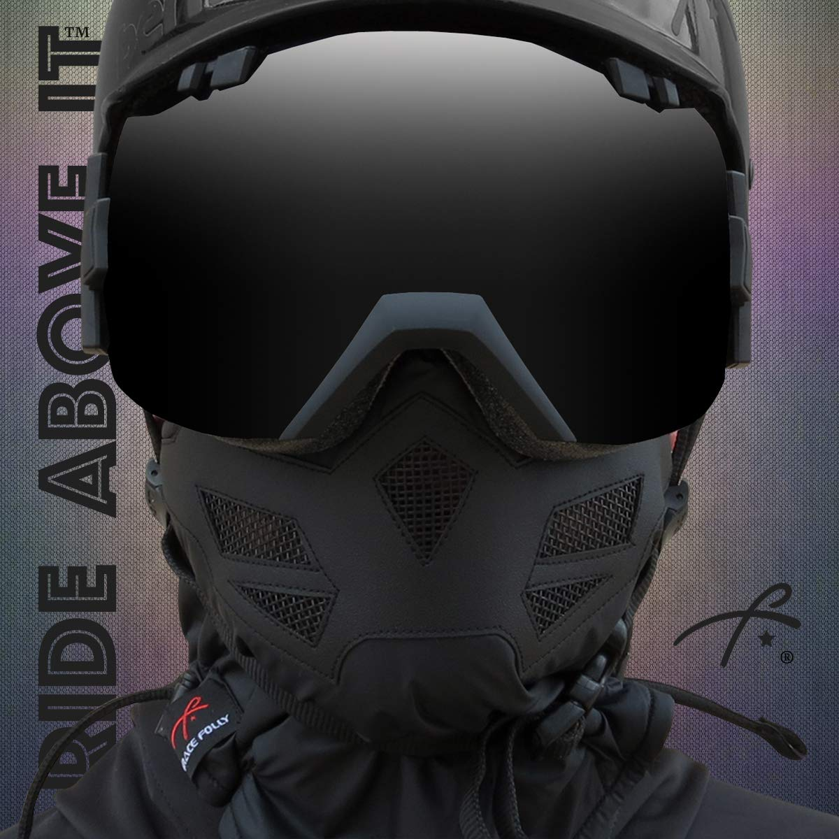 Use this Half Balaclava for Snowboarding Many Colors Ski Motorcycle. Half Face Mask for Cold Winter Weather