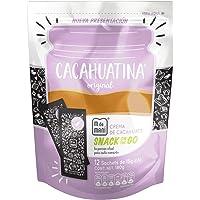 12 pack Pouch Cacahuatina Original. Crema de cacahuate natural en presentación snack individual. Peanut butter ¨on the go¨.