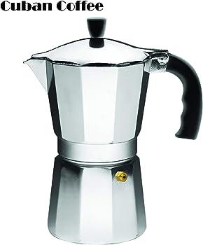 Imusa Espresso Coffee Maker w/Cool Touch Handle