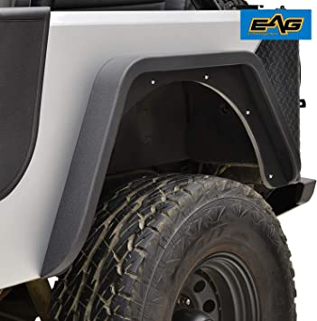Replacement Fender Flare Flares Full Kit for Jeep CJ CJ5 CJ7 1955-1986  11601.01
