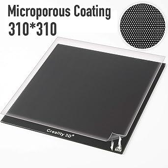 Creality - Panel de placa de cristal para impresora 3D de 310 x ...
