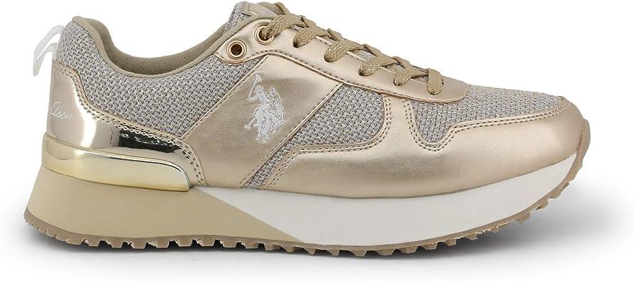 U.S. Polo Sneaker FRIDA4103W8_TY1 Mujer Color: Amarillo Talla: 38 ...
