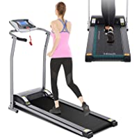 Mauccau Folding Treadmill Electric Motorized Running Machine Portable Treadmill for Home Small Spaces Office Gym Walking…