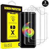 Galaxy S9 Screen Protector, [3-Pack] Yoyamo Full Screen Coverage 3D PET [NOT Glass] [Anti Scratch] Screen Protector for Samsung Galaxy S9, Case Friendly