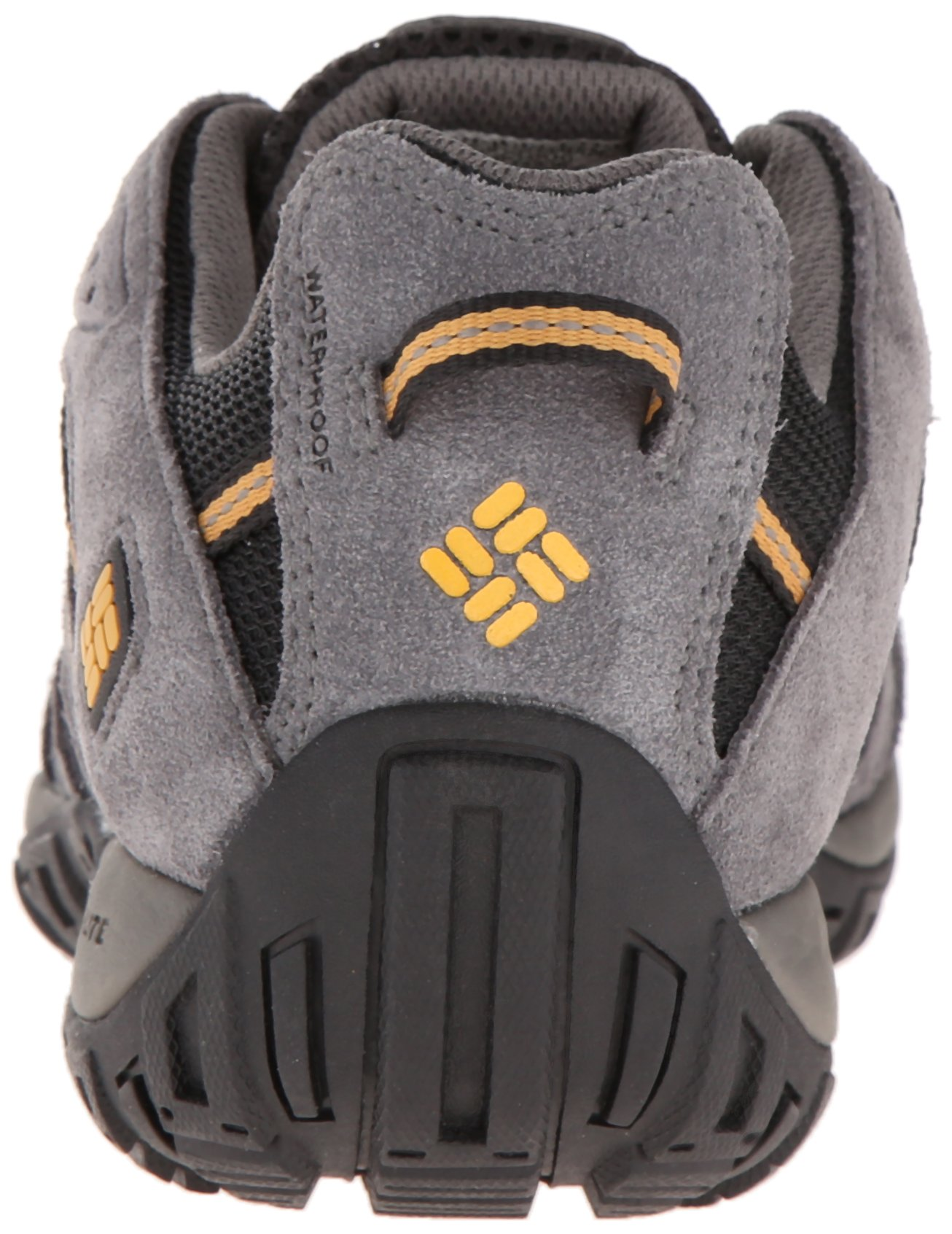 Columbia Men's Redmond Waterproof Hiking Shoe Black, Squash 7.5 D US by Columbia (Image #2)