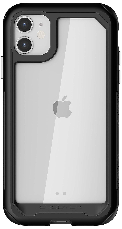 Ghostek Atomic Slim Designed for iPhone 11 Case Clear Metal Bumper