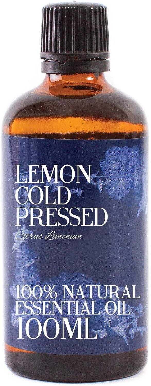 Limón Prensado En Frío Aceite Esencial - 100ml - 100% Puro