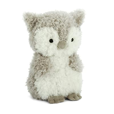 Jellycat Little Owl Stuffed Animal, 7 inches: Toys & Games