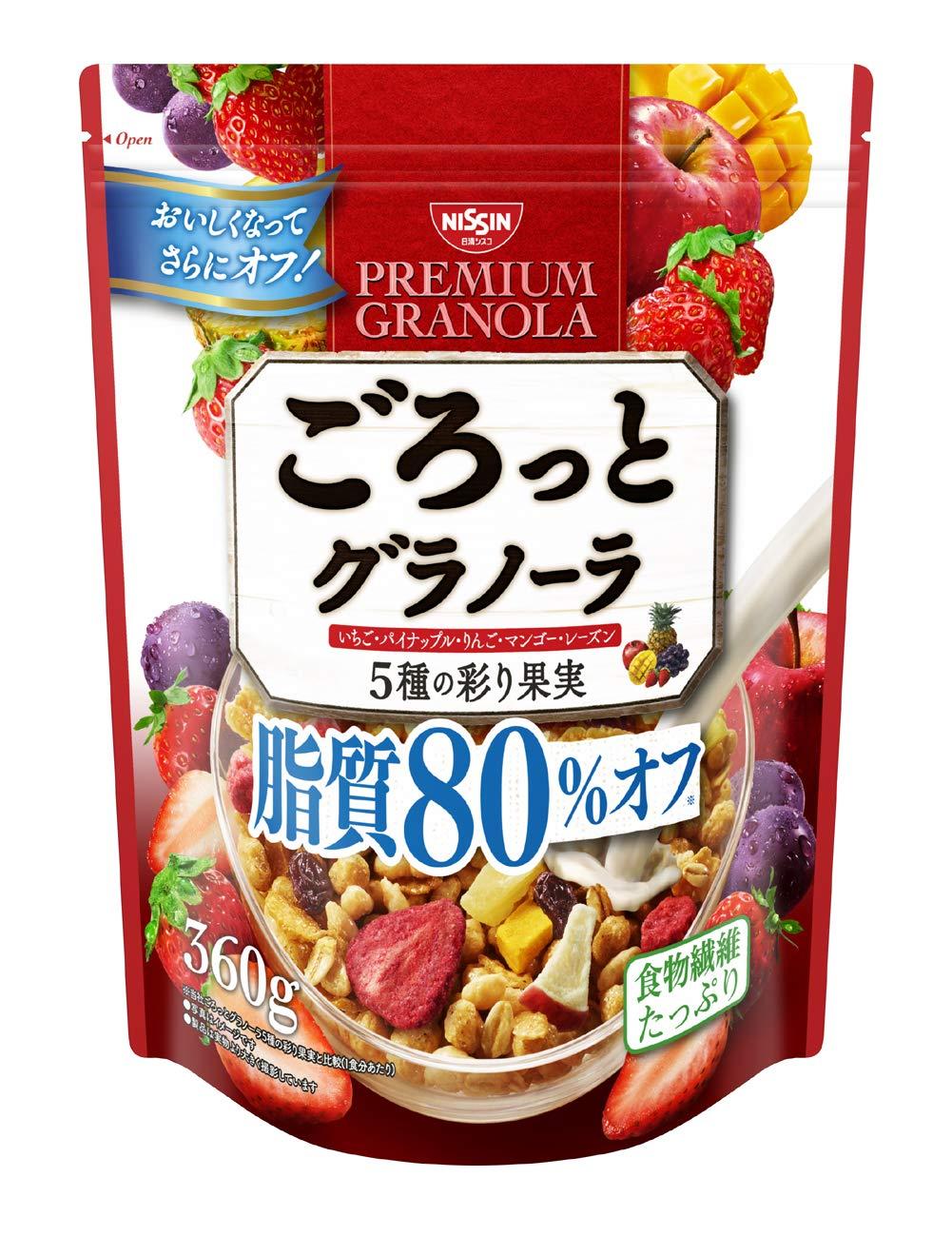 日清 水果穀物麥片