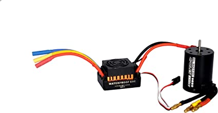 80A Brushless ESC 3900kv for 1//10 RC Car Upgrade Accessories Parts Orange