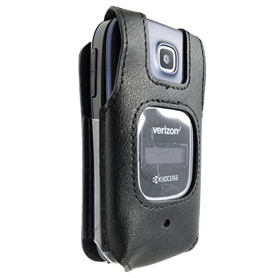online store 8756e ed73a Kyocera Cadence Case Fitted Cover S2720 LTE Phone With Heavy Duty Rotating  Belt Clip Black