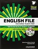 English File. Intermediate Student's Book + Workbook  + Entry Checker (con clave) (English File Third Edition) - 9780194519915