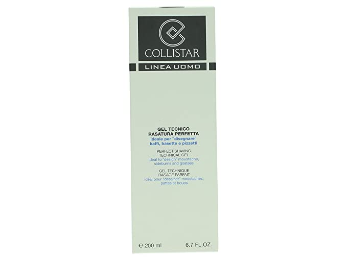 Collistar Uomo - Perfect Shaving Technical - Gel de afeitar - 200 ml: Amazon.es: Belleza