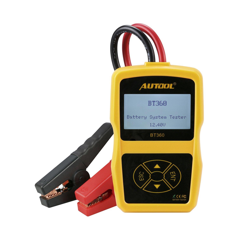 Homyl BT-360 12V Auto Car Battery System Diagnostic Analyzer Tester Tool