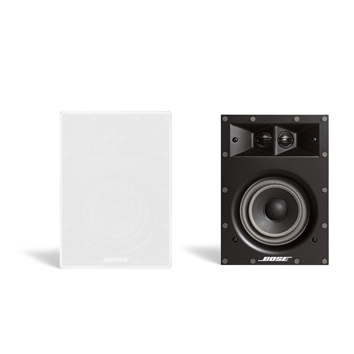 Bose Virtually Invisible 691 In-Wall Speaker (White) Pair of two by Bose
