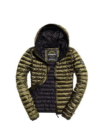 Superdry Core Down Hooded Jacket Veste de Sport Femme