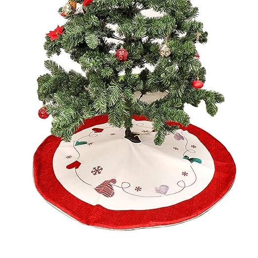 Falda para árbol de Navidad de 48