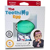 The Teething Egg Teething, Mint Green