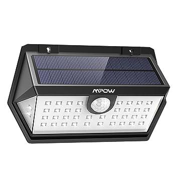 3 Modes Intelligents Mpow 40 Led Spot Solaire Etanche Ip65 Lampe